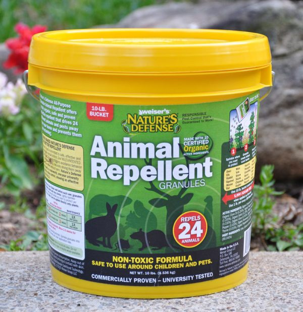 Nature's Defense All-Purpose Animal Repellent - 10 lbs.