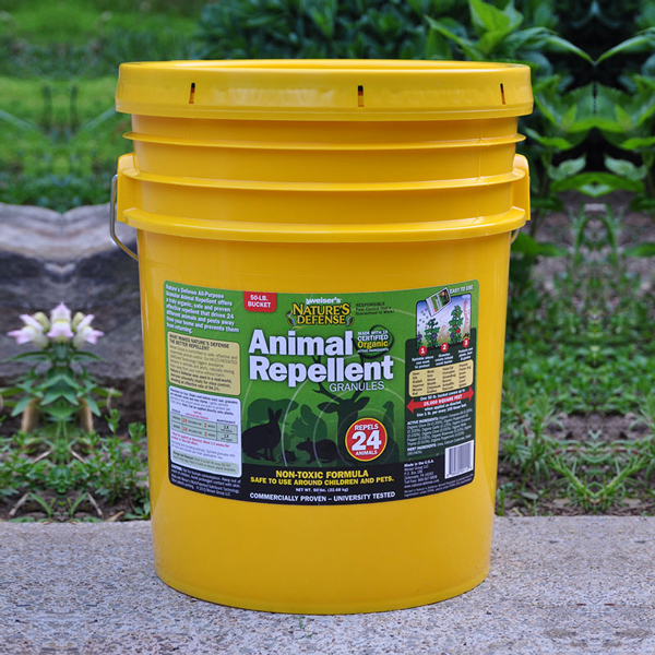Nature's Defense All-Purpose Animal Repellent – 50 lbs.