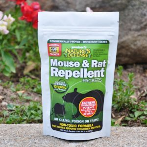 Nature's Defense Mouse & Rat Repellent Packets